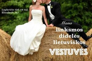Mūsų kaime – vestuvės!